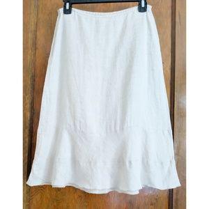 United Colors of Benetton, Linen Skirt, US Size 4